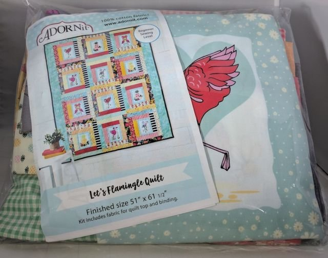Lets Flamingle Quilt Kit