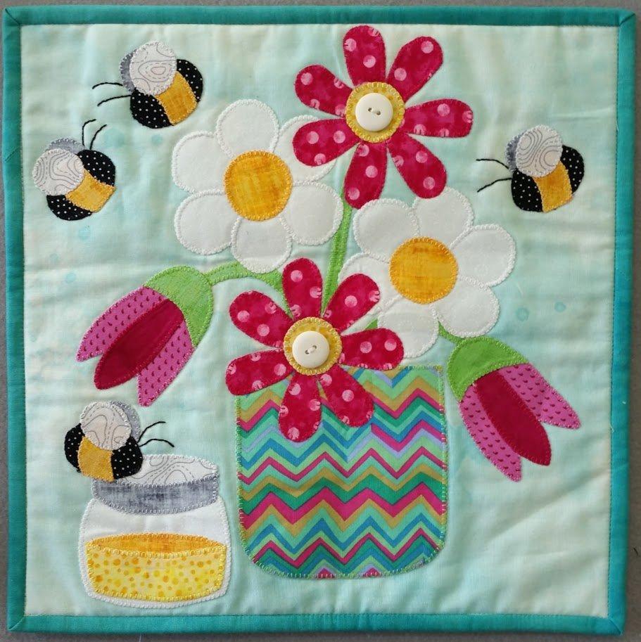 June Honey Bee Fabric Kit