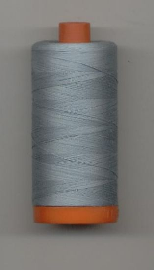 Aurifil 50wt Crystal Blue Thread