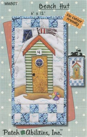 Beach Hut Monthly Mini Pattern