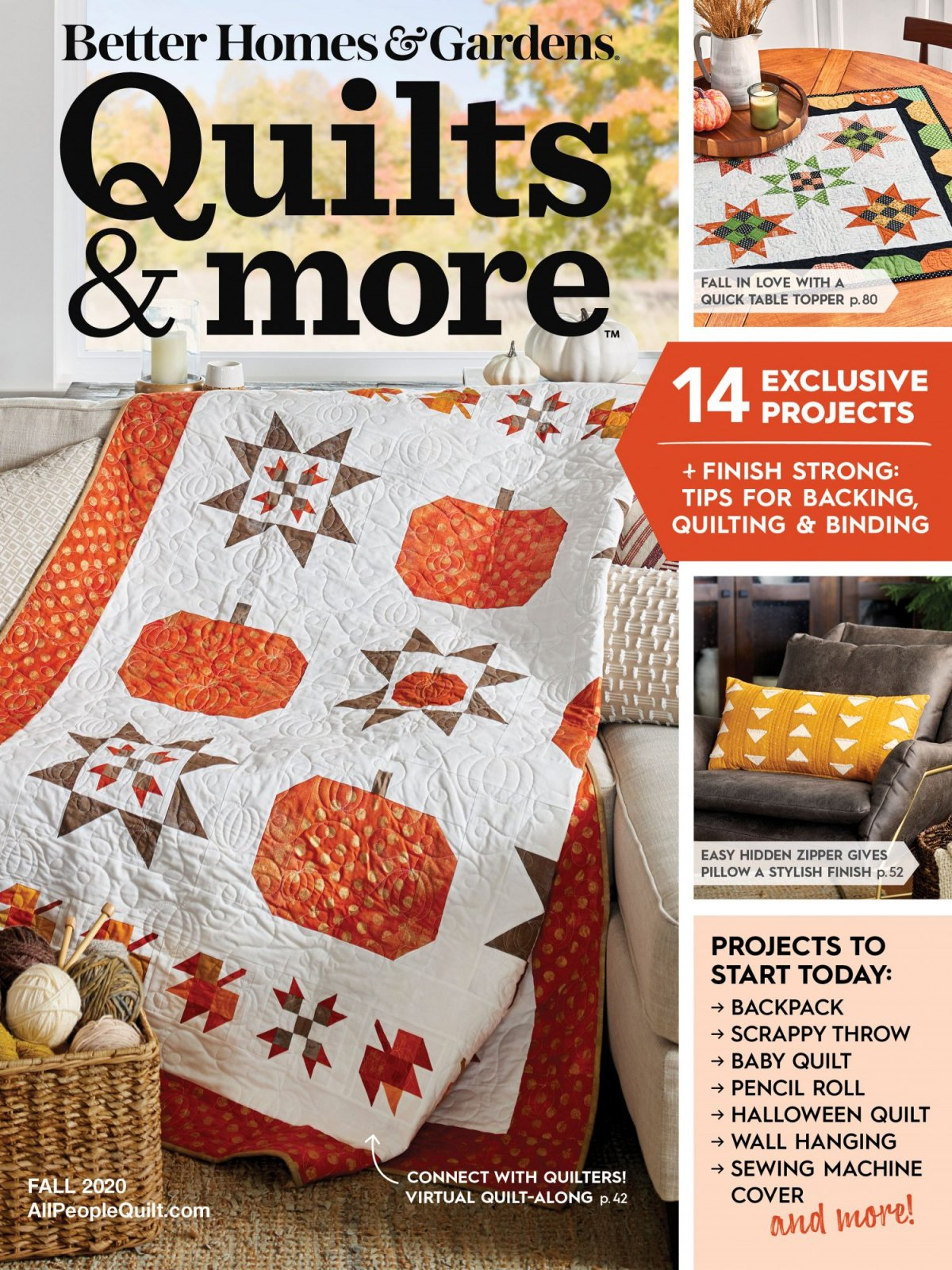 Quilts & More Fall 2020 Magazine