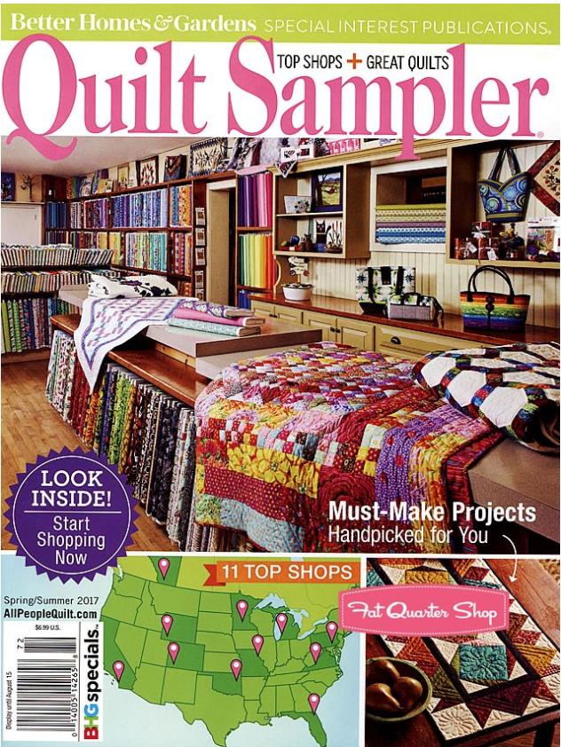 Quilt Sampler Spring 2017
