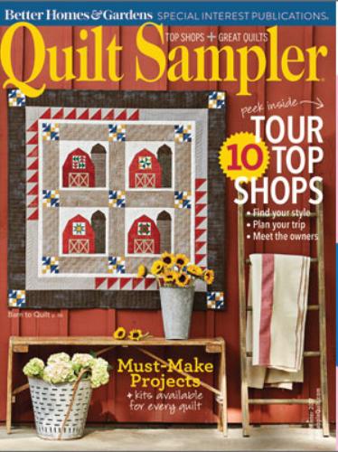 Quilt Sampler Magazine Fall 2017