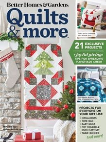 Quilts and More Magazine Winter 2021