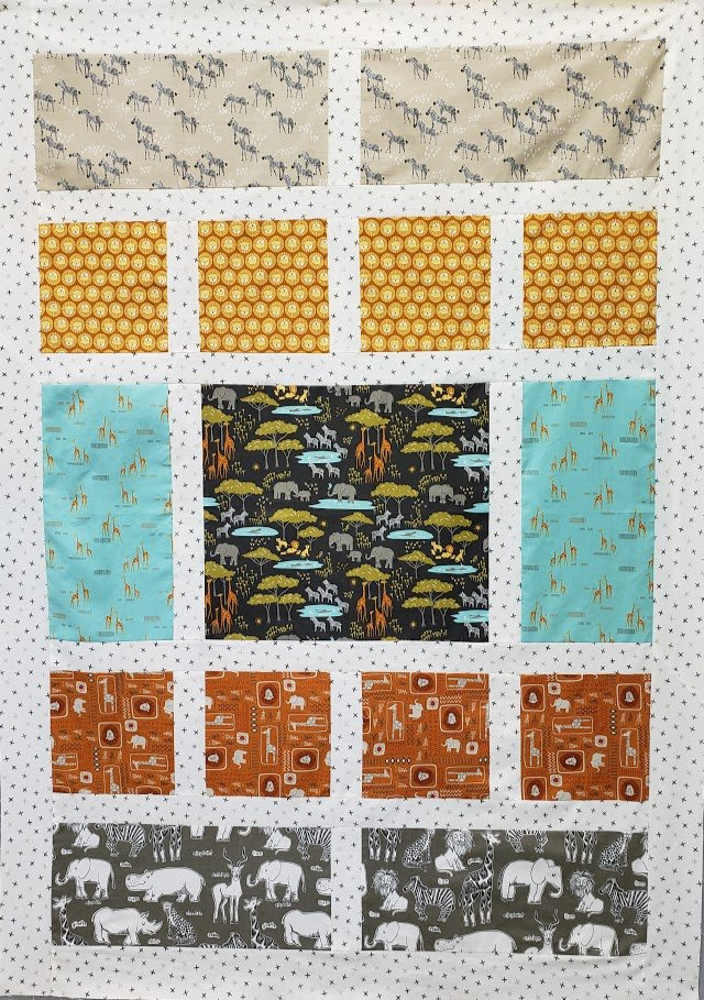 Safari Life Quilt Kit