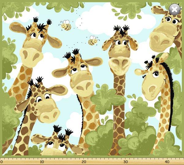 Susybee Zoe the Giraffe Single Panel 20062-430