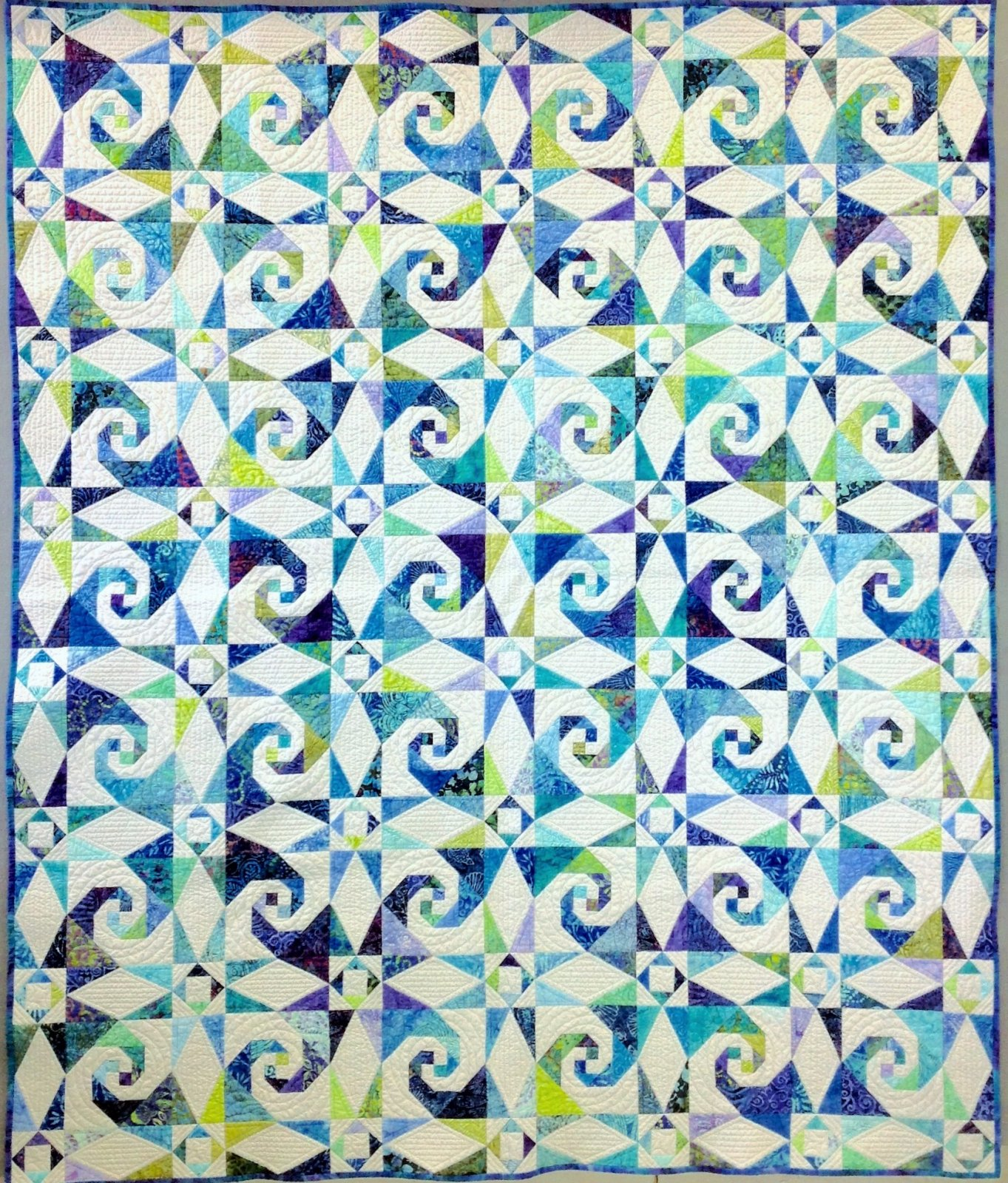 Sea Swept Quilt Kit