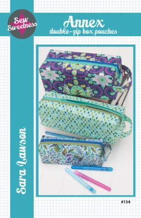 Annex Double Zip Pouches Pattern