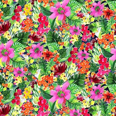 Paradise Found Multi Jungle Floral DJL1774