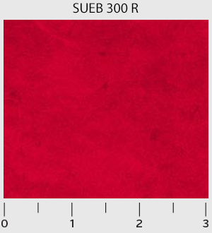 Suede Brights Red