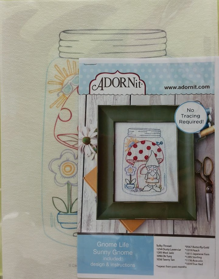 Gnome Life May Artplay Stitchery Pattern