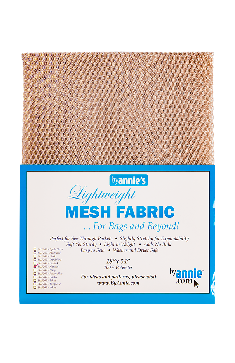 Mesh Lite Weight Natural