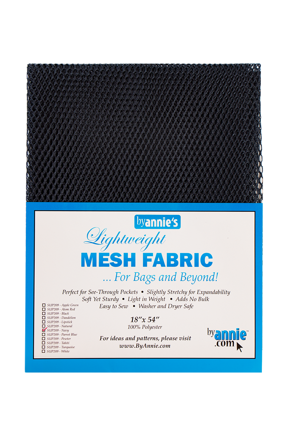 Mesh Lite Weight Navy