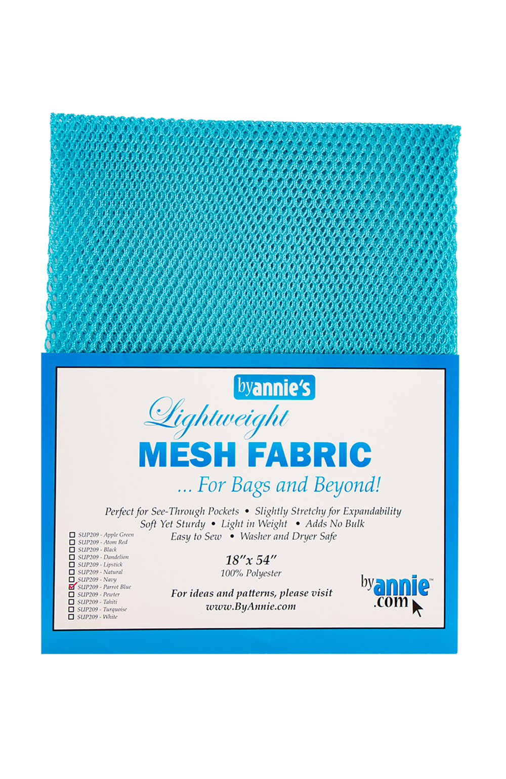 Mesh Lite Weight Parrot Blue