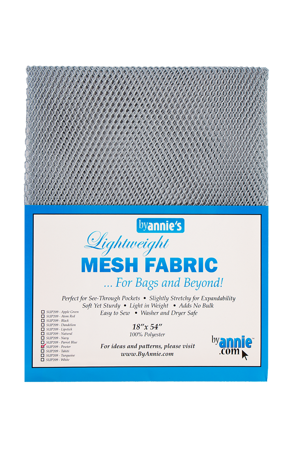 Mesh Lite Weight Pewter