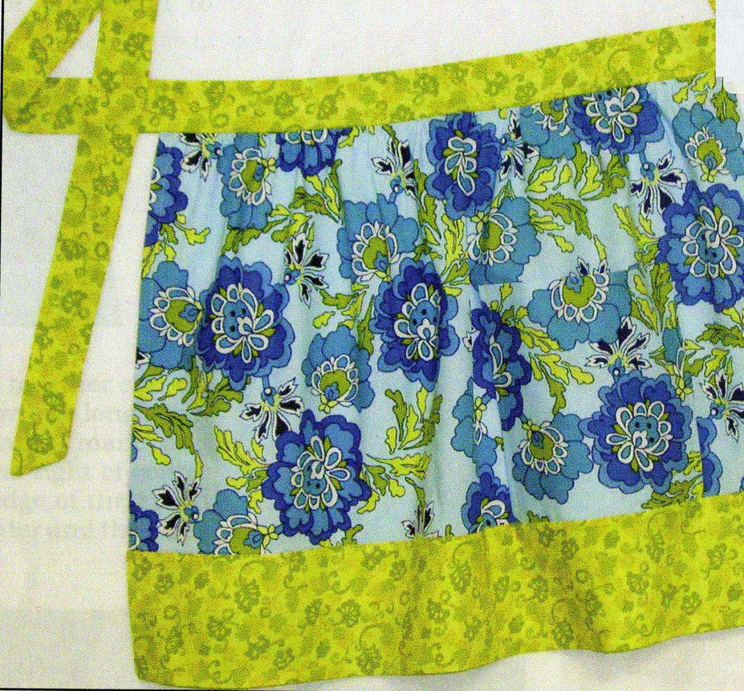 Half and Half Apron Project Sheet