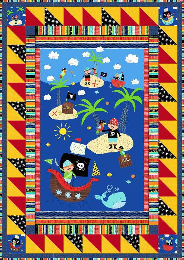 Treasure Island Quilt Kit