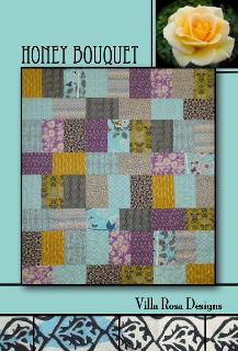 Honey Bouquet Quilt pattern