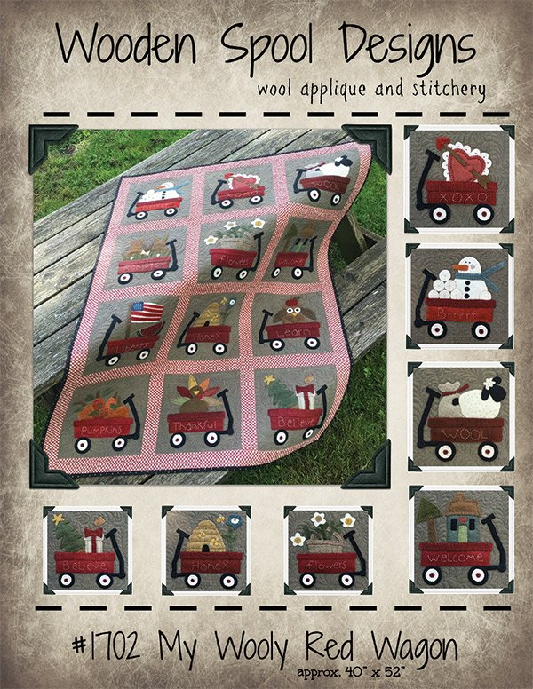 My Wooly Red Wagon Pattern