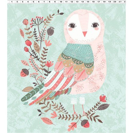 Forest Owl Panel