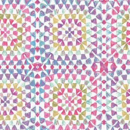Having A Ball Raspberry Crochet Squares Y3190-74