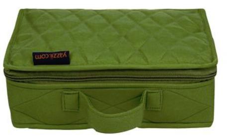 Yazzi Mini Craft Organizer Green Large