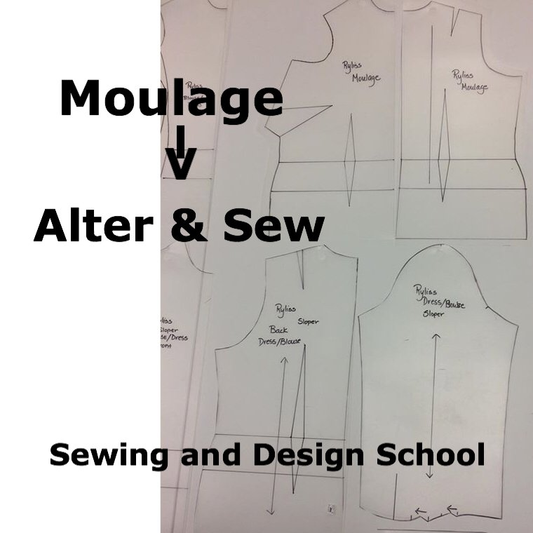 ATLANTA - ALTER & SEW with your Moulage Master Patterns with Ryliss Bod