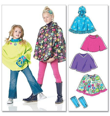 Kids & Teens (Adults may register too)- PONCHOS - Sewing Camp - 2-4 ...