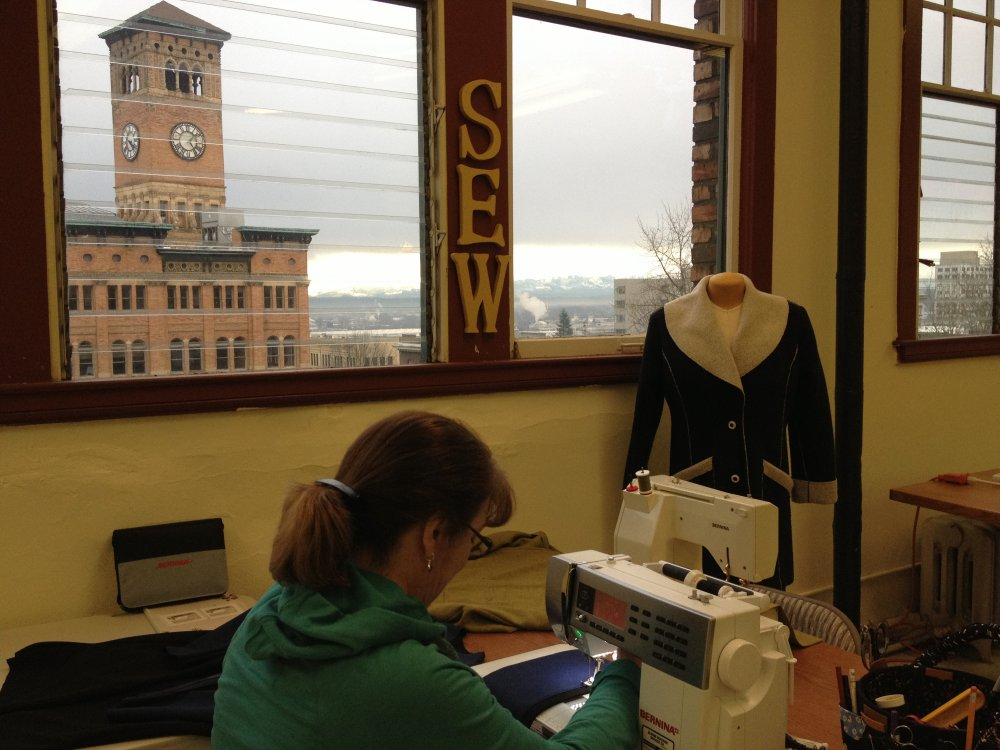 X Sewing Machine Rental Knit Block Workshop Impressive Rent Sewing Machine