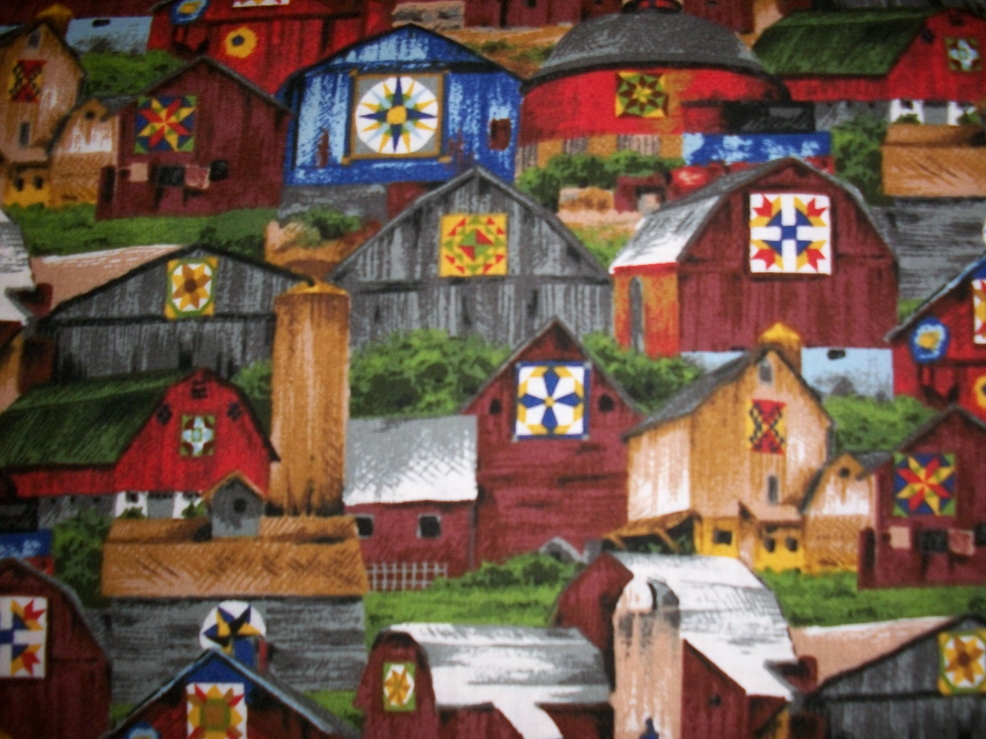 Barn to Quilt Backing