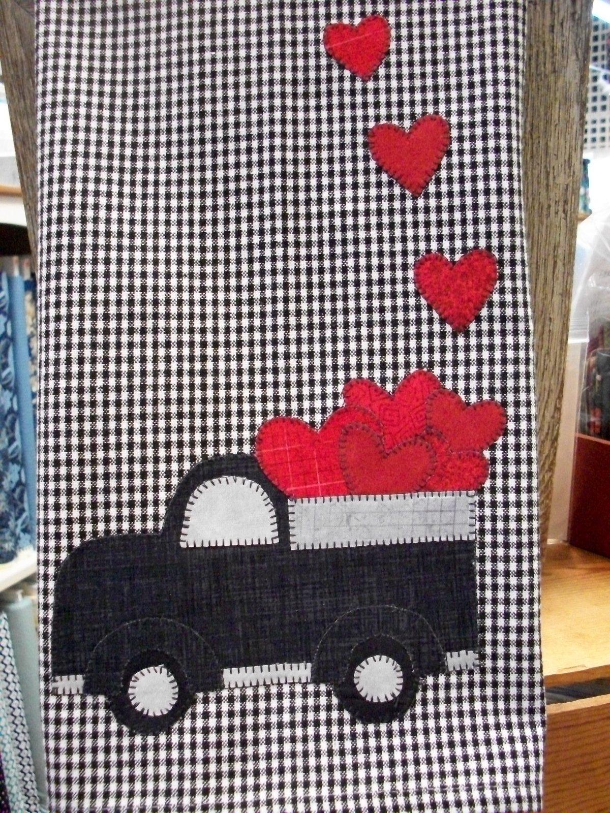 Love Truck Towel Kit
