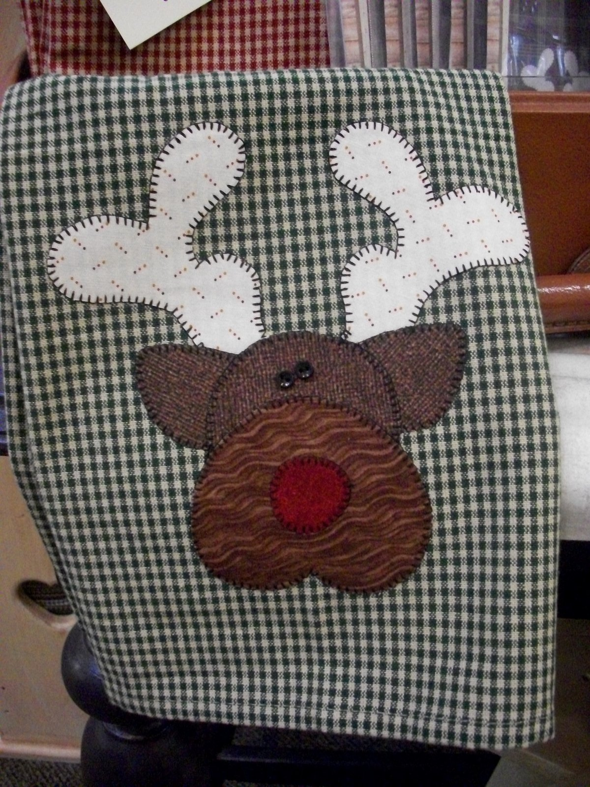 Reindeer Patternlet & Fabric