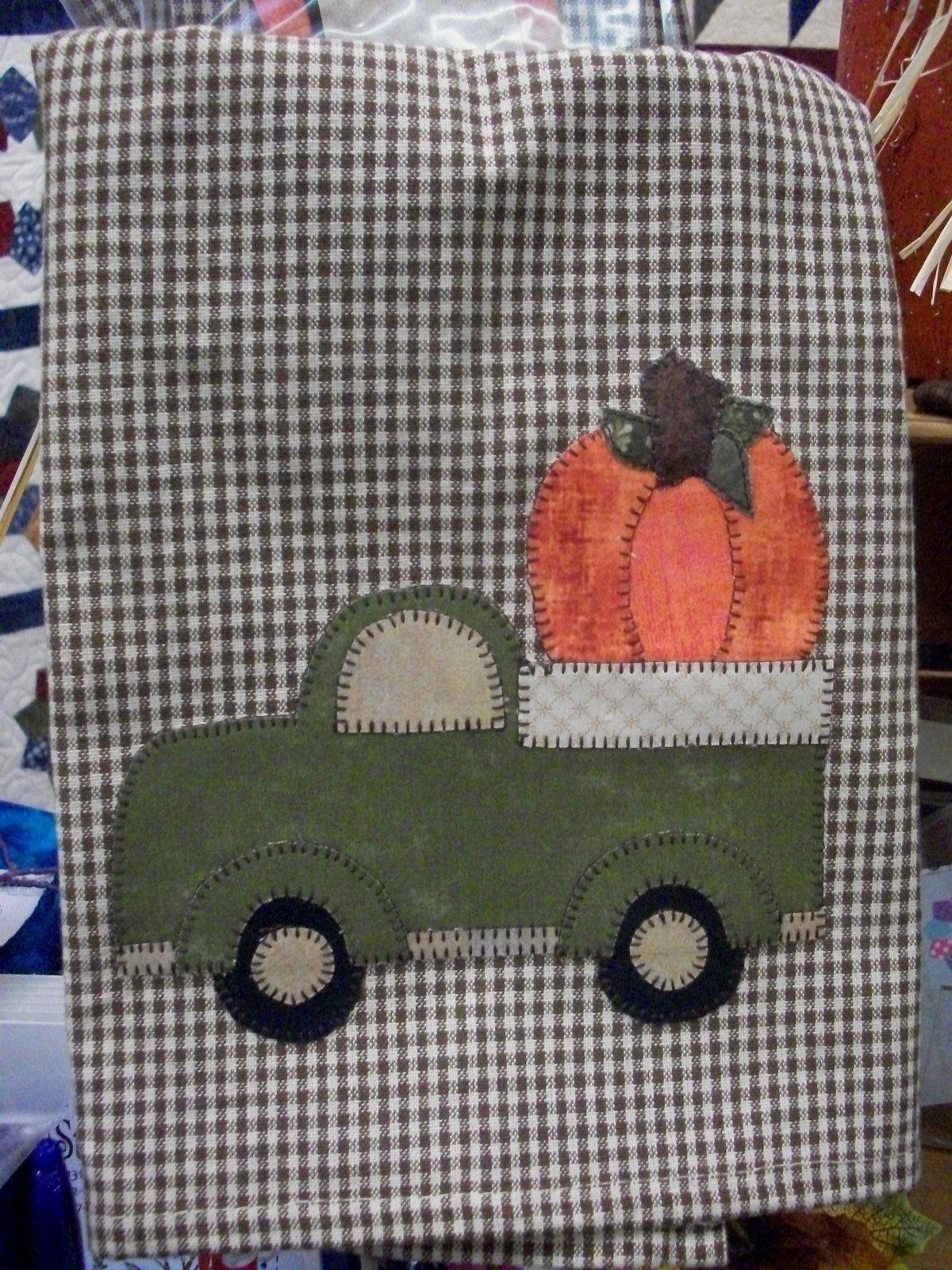The Great Pumpkin Towel Kit