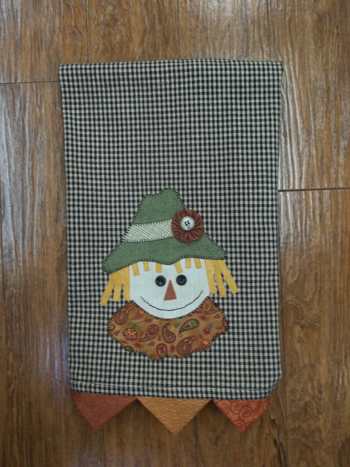 Brainy Scarecrow Towel