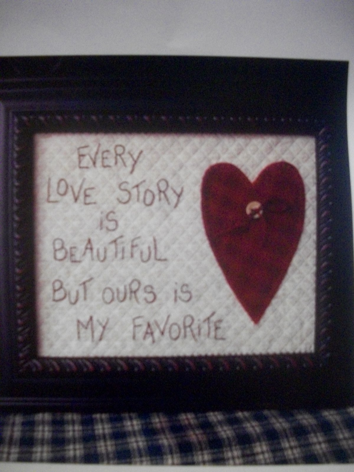 The Good Life-Every Love Story-stitchery