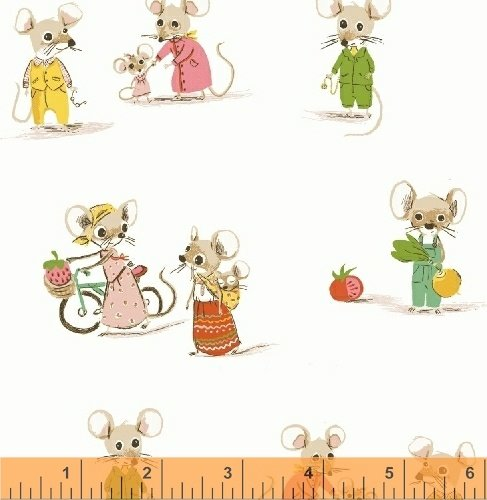 Country Mouse/City Mouse in White