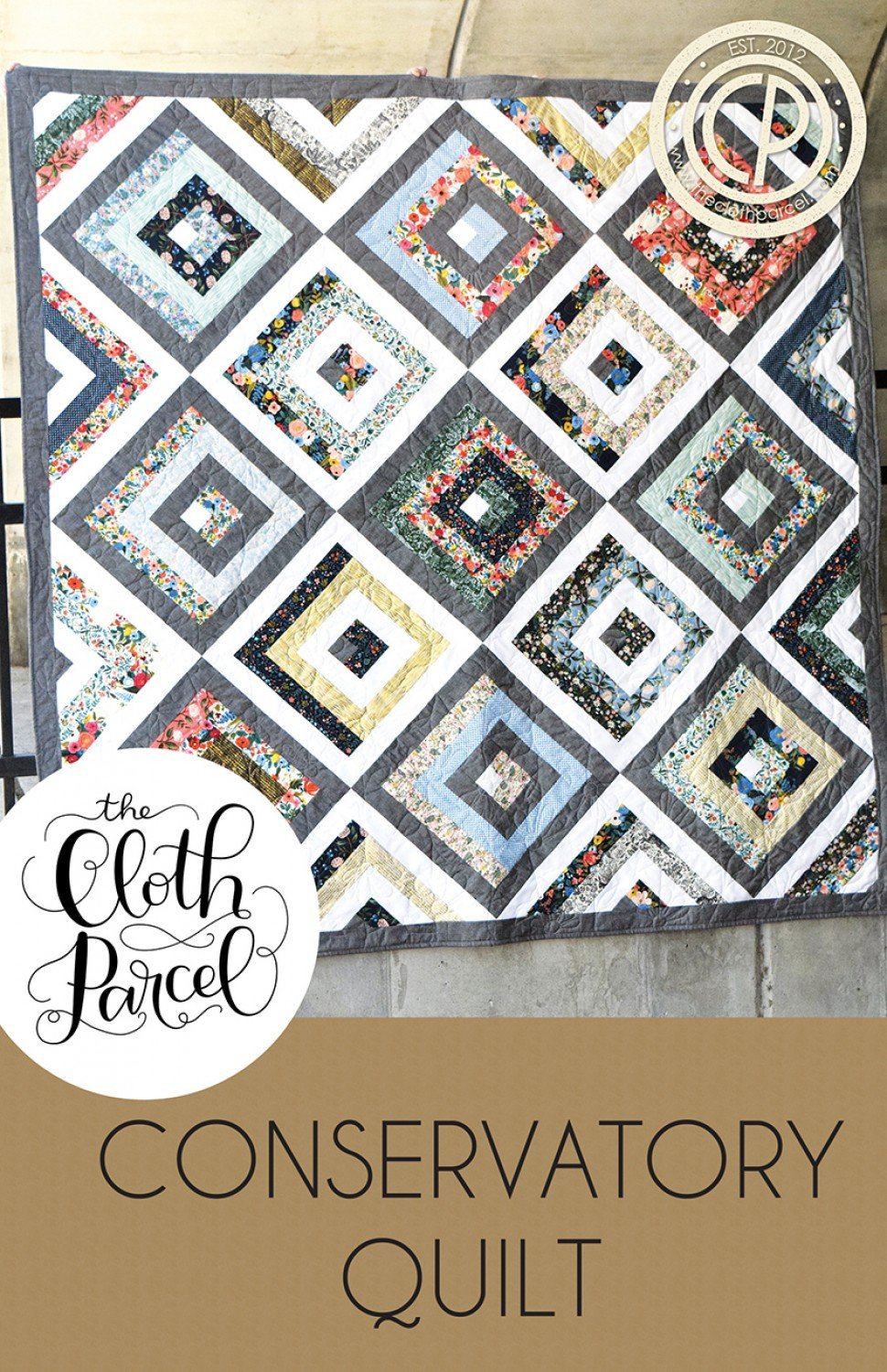 Conservatory Quilt by Cloth Parcel