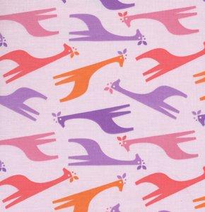 Giraffes in Purple