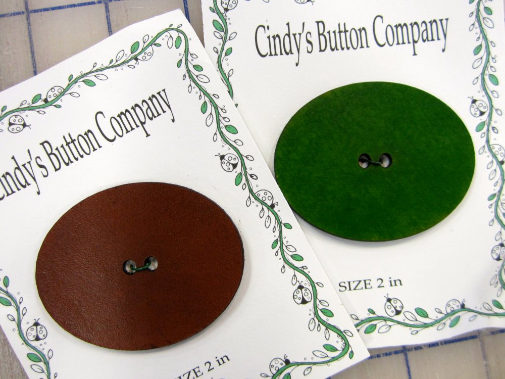 Cindy's Oval Button