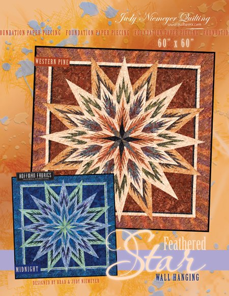 Feathered Star Wallhanging