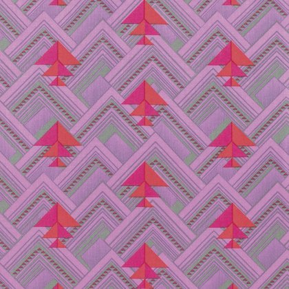 Pincushion Flower Midnight by Amy Butler Quilting Fabric Splendor
