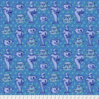 Delft Pots in Blue