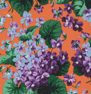 Violets in Peach