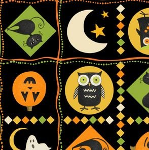Halloween Patches Multi