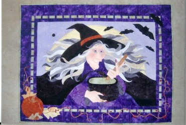 Witch's Brew Wall Quilt