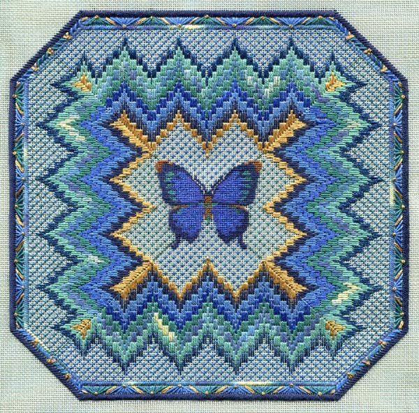 BARGELLO AND BUTTERFLY