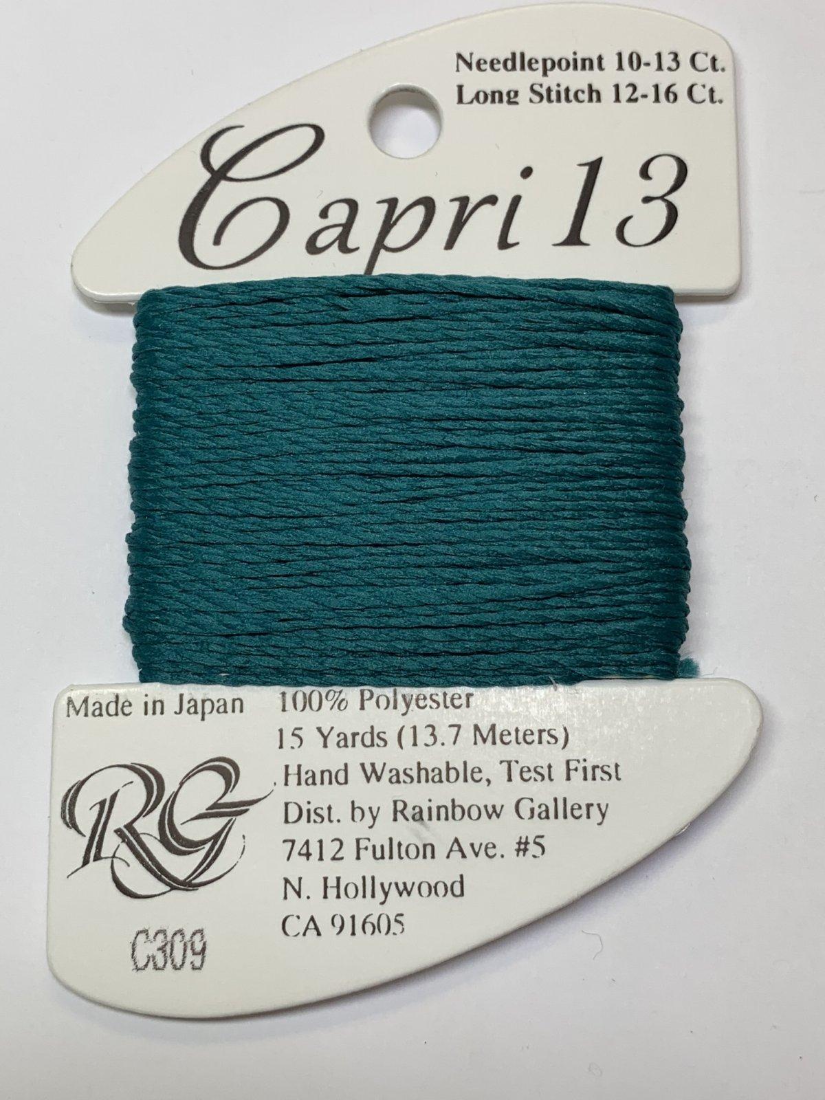 C309-13-TEAL GREEN