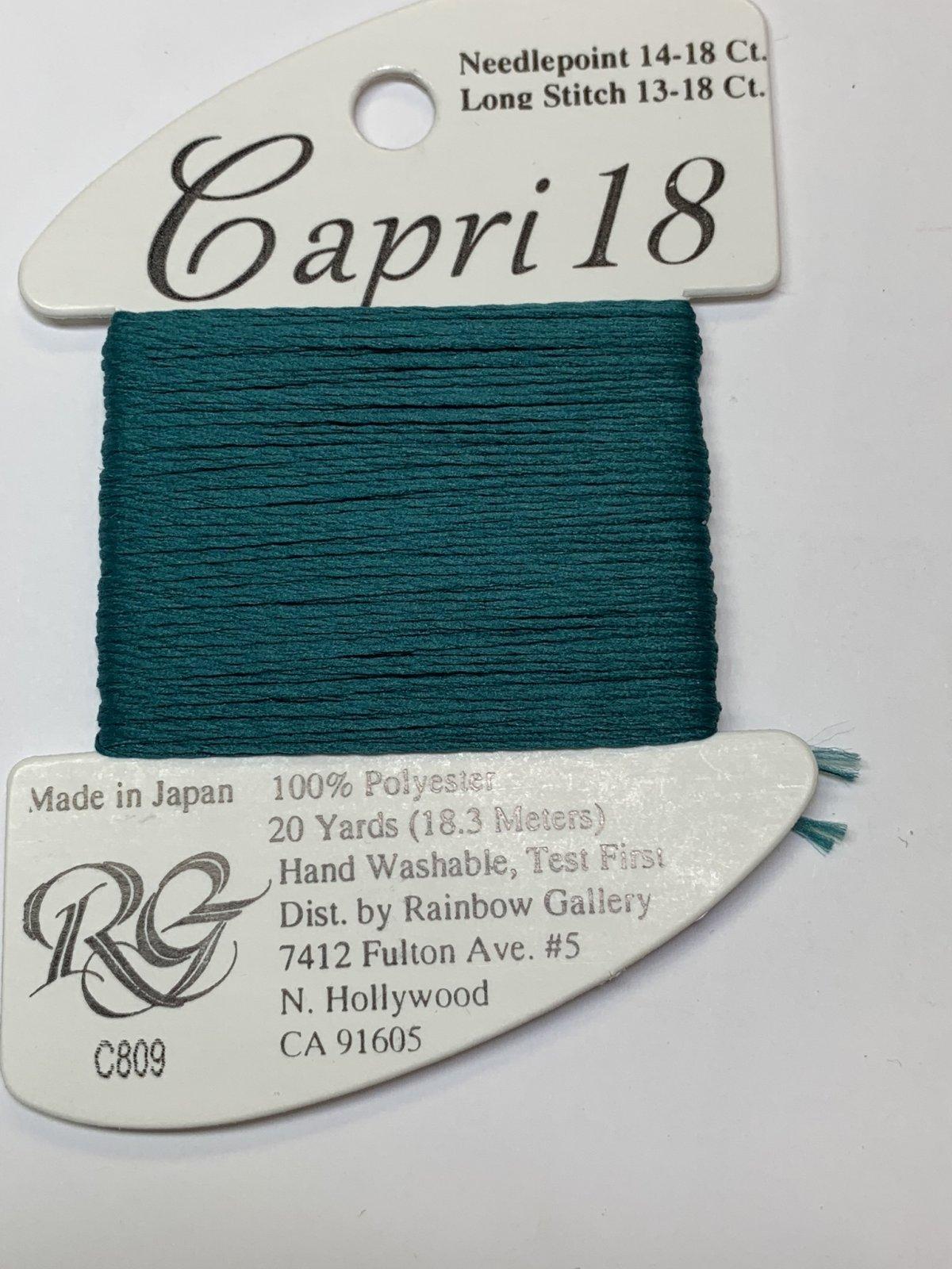 CAPRI-18-C809-TEAL GREEN
