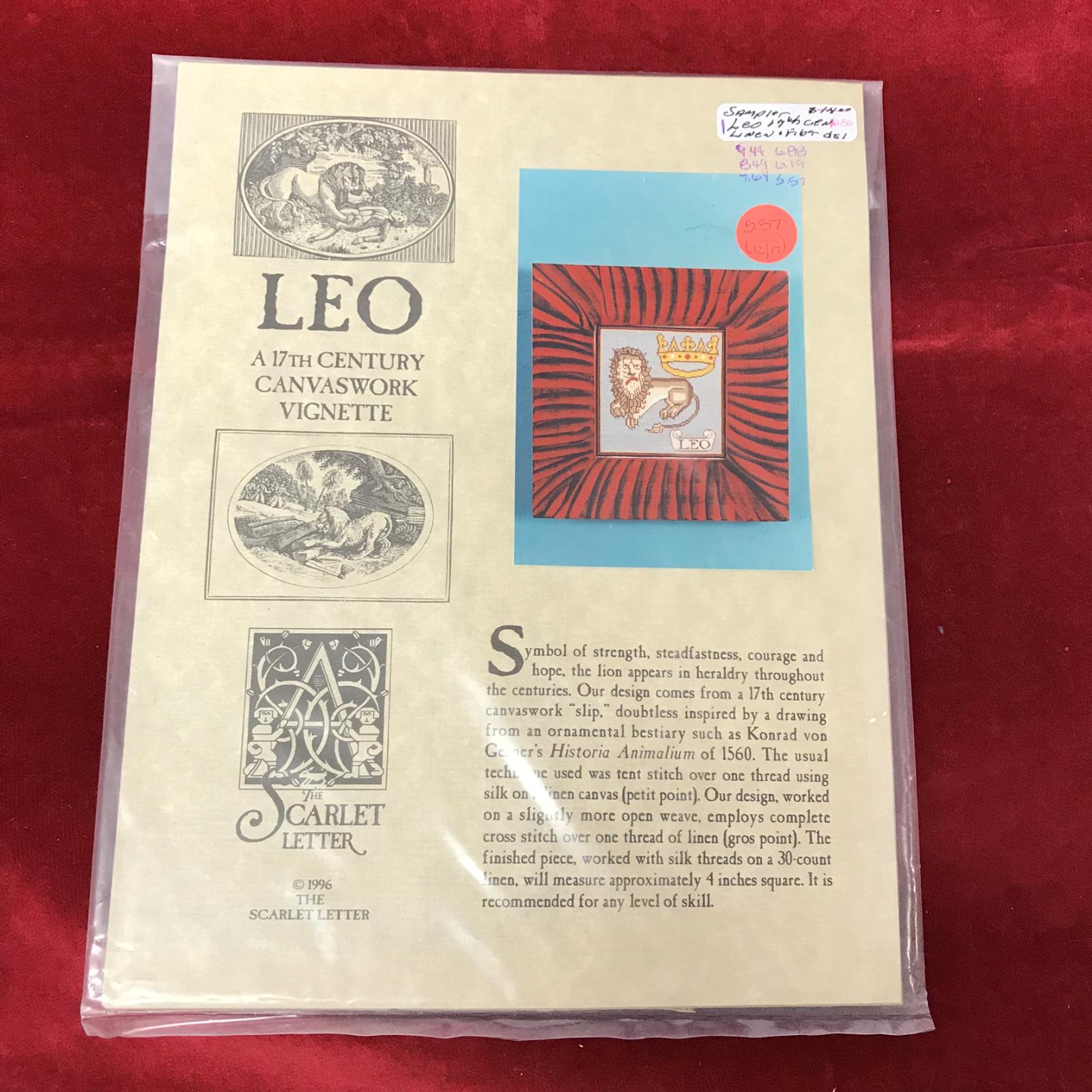 LEO-17TH CENTURY VIGNETTE