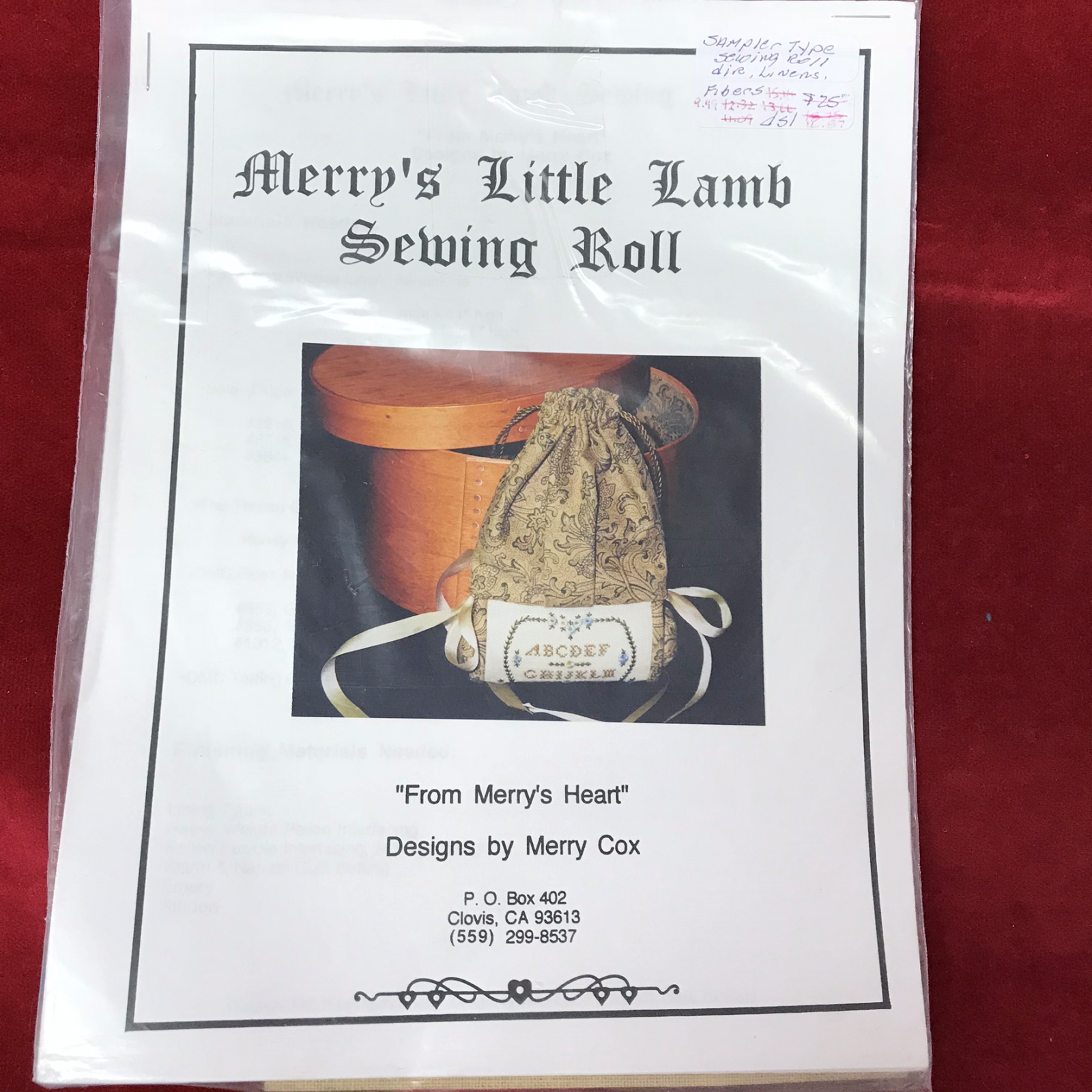 MERRY'S LITTLE LAMB SEWING ROLL